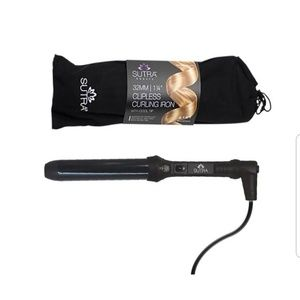 NWT Sutra clipless curling wand 1.25""